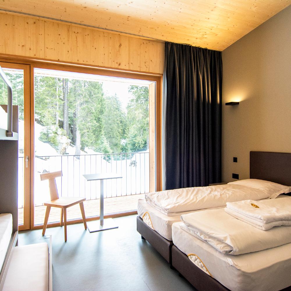 camera quadrupla campra alpine lodge & Spa
