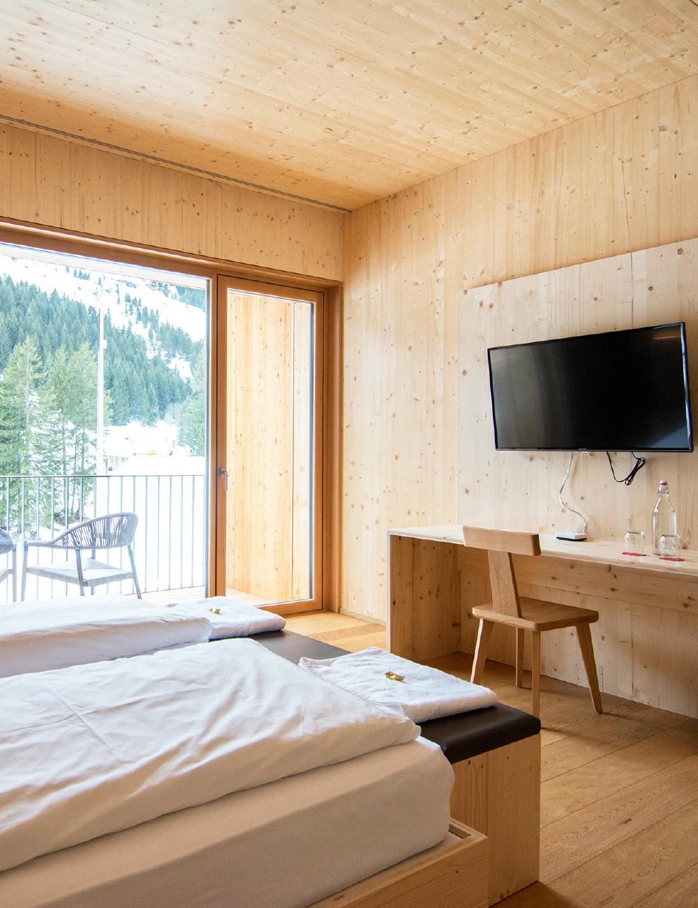 camera doppia comfort campra alpine lodge & Spa