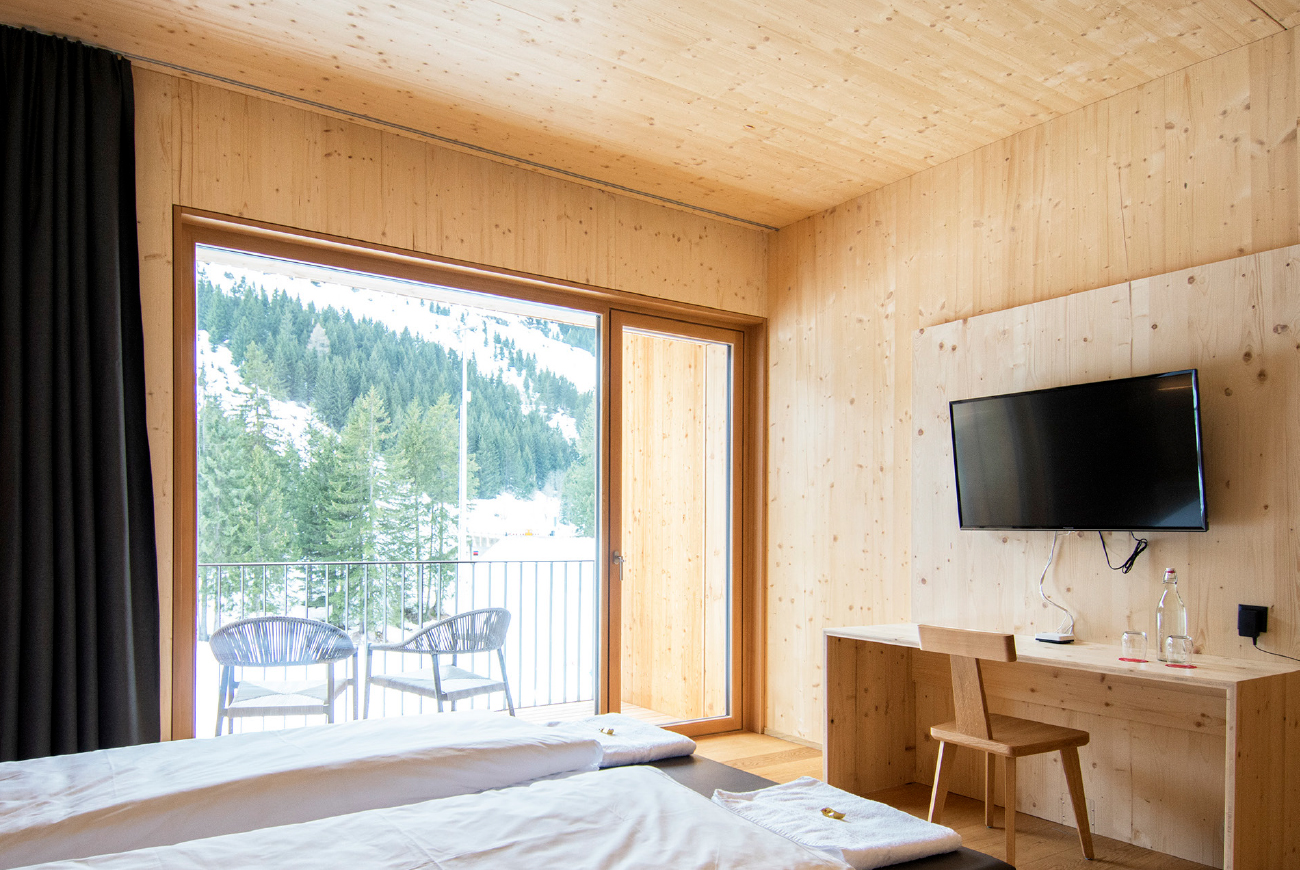 Comfort Double Room al Campra Alpine Lodge & Spa