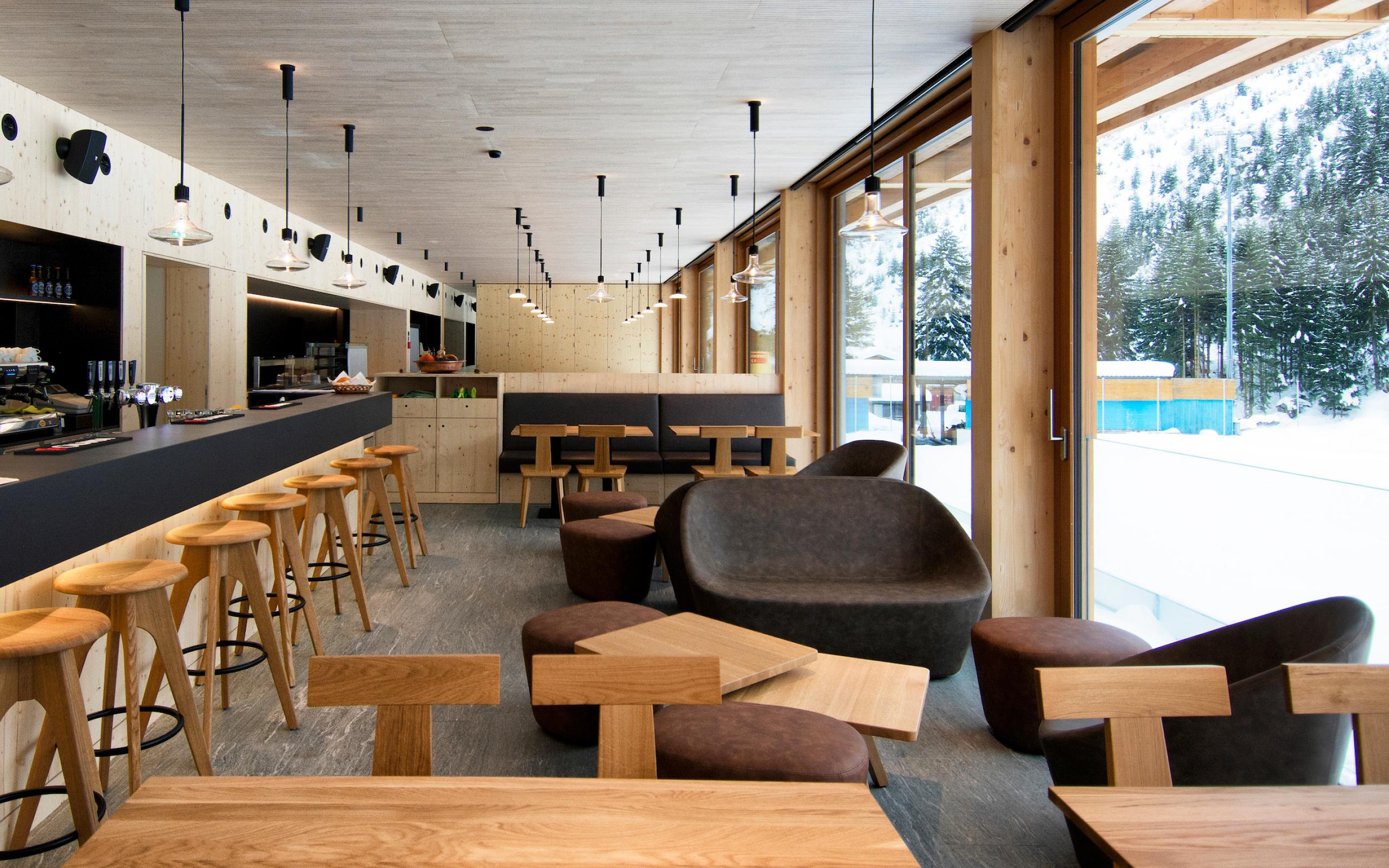 bar e ristorante Il Ritrovo al Campra Alpine Lodge & Spa