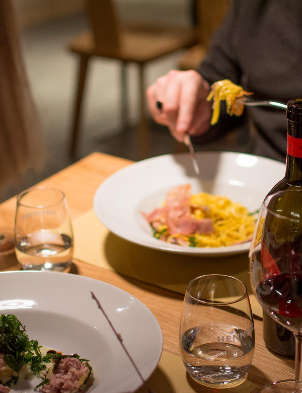 cena al ristorante Il Ritrovo Campra