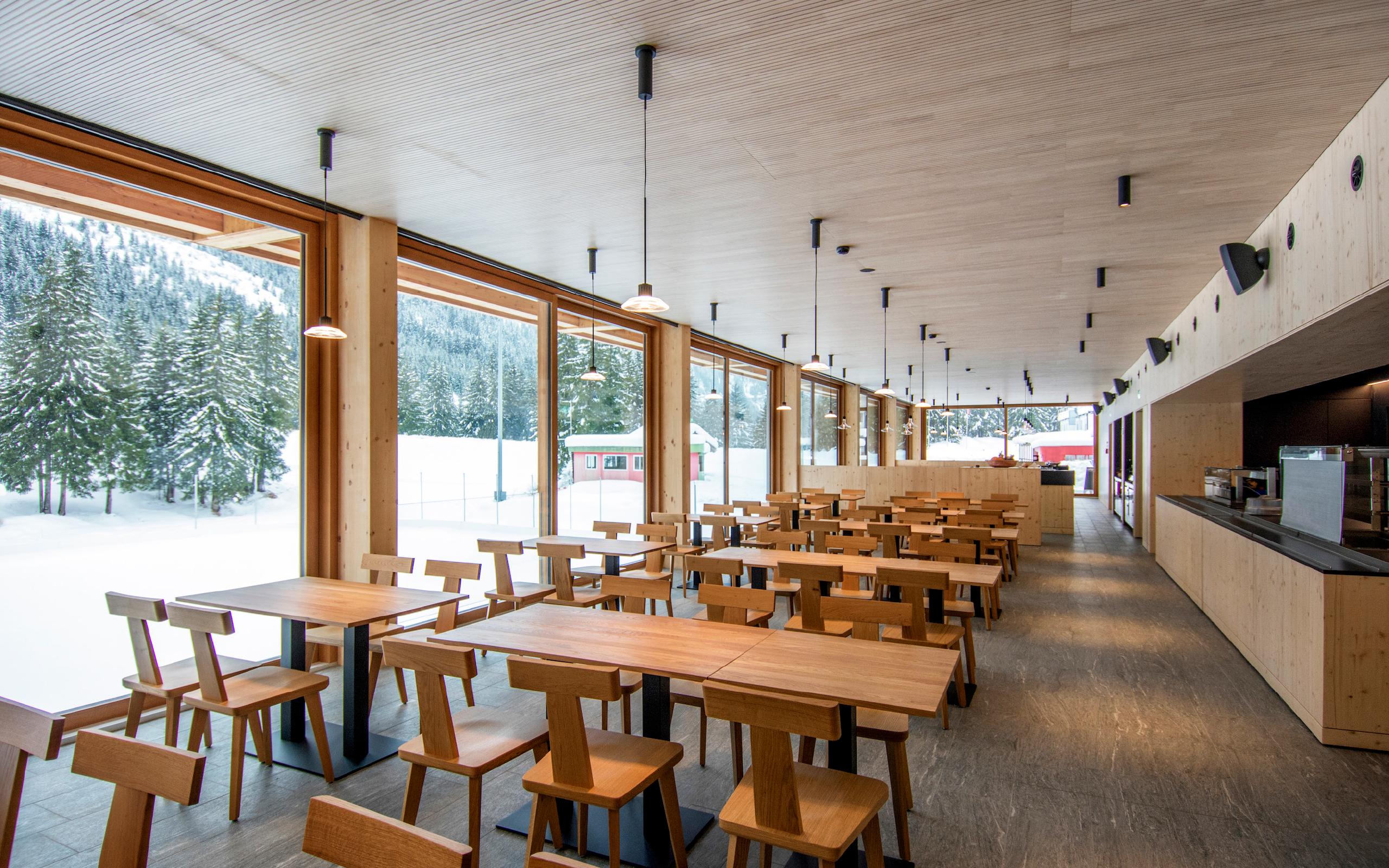 ristorante self-service Il Ritrovo al Campra Alpine Lodge & Spa