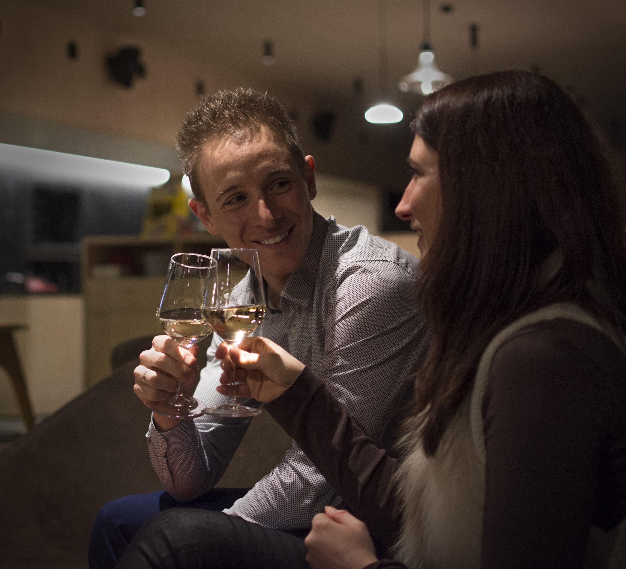 aperitivo al Lounge-Bar Il Ritrovo in Campra