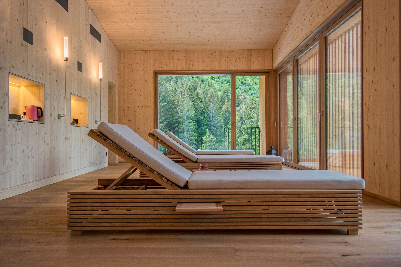 zona relax al Campra Lodge